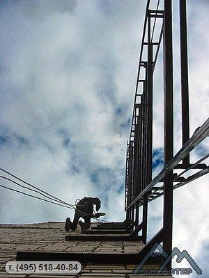 Промышленный альпинизм условия работы