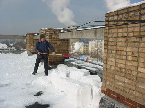 Гранд смета очистка крыш от снега